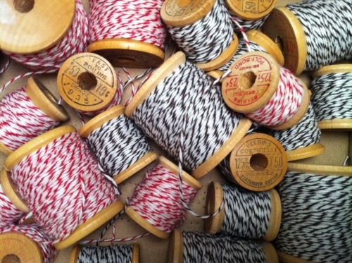 baker's twine, ficelle rouge, US